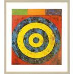 ジャスパー・ジョーンズ『Target』複製画 【絵画 額付 新品 版画】
