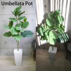 Yahoo!デコレーションファクトリー人工観葉植物 造花/105cm ウンベラータのインテリアポット カフェスタイル 光触媒を超える消臭効果 造花