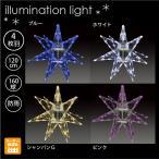 LEDセパレーツギャラクシー 4枚羽(中) /LEDイルミネーションモチーフライト 屋外/1万円で送料無料のイルミネーションモチーフ