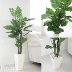 人工観葉植物/リアルポトスのホワイトポット 130cm/ホワイトポット付き。お部屋の消臭/ CT触媒(無光触媒)加工済み 送料無料