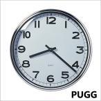 イケア/IKEA/ ウォールクロック 壁掛け時計/ステンレススチール クロムメッキ おしゃれ シンプル アンティーク