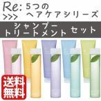 アジュバン リ シャンプー トリートメント セット RE:Shampoo 5つのヘアケアシリーズ 300ml 250g ブランド 女性 ギフト レ