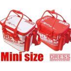DRESS ドレス オリジナル バッカンミニ  レッド【 オフィシャルグッズ バッカン 釣具 釣り バス釣り】