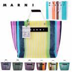 マルニ MARNI バッグ 限定 フラワーカフェ トート カゴ ストライプ レディース 夏 女性 ブランド FLOWER CAFE 新品