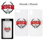 MSGM iPhone X 8 10 ケース カバー メンズ レディース T-CLG-04IP