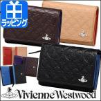 ヴィヴィアンウエストウッド 【Vivienne Westwood】 財布 折財布 3318N23  モノグラム 【二つ折り レディース ヴィヴィアン】