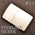 zippo ジッポーライター スターリングシルバー sterling silver #13 純銀