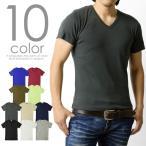 ショッピングカットソー カットソー メンズ Tシャツ フライス Vネック 半袖