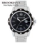 ブルッキアーナ 腕時計 ブランド メンズ カレンダー BROOKIANA ba0012