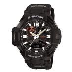 カシオ CASIO 腕時計 ユニセックス GRAVITYMASTER グラビティーマスター ga-1000-1a クォーツ ワールドタイム表示