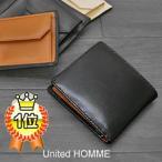 財布さいふサイフ メンズ財布二つ折り財布 ブランド財布 黒ブラック