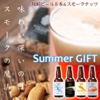 敬老の日 ビール 地ビール 8本 燻製ナッツ ギフト