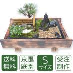 お中元 盆栽 ミニ庭園 盆景【京風庭園(S)】
