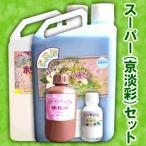 【スーパー(京淡彩)セット】スーパー1液くん プリザーブドフラワー液