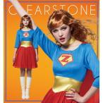 アメリカンヒーロースーパーマンレディース女性衣装仮装コスプレハロウィンコスチューム