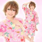 アロハローキティ 甚平 SAZAC 浴衣・甚平・ルームウェア・パジャマ