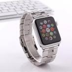 Apple Watch ケースステンレスバンドメタルベルト耐衝撃カバー最強レベル金属超頑丈ステンレスアップルウォッチファッション合金42mmカバー38mm