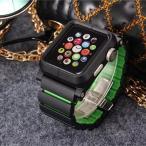 Apple Watch ケースアルミバンドカバー最強レベルメタルベルト合金金属超頑丈アップルウォッチファッション合金42mmカバー38mm