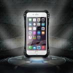 全方位武装 iPhoneSE ケース R-JUST 防滴防塵耐衝撃超頑丈最強レベル金属合金スマートフォンiphone5 iphone5S指紋認証可バンパーカバー