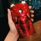 MK7 iPhone6 ケース3Dカバー Iron ManアイアンマンLEDライトスマホケース大人気個性ハードカバー映画周辺