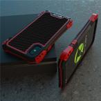 アミラ iphone X ケース AMIRA 金属超頑丈メタル合金iPhoneX アルミバンパー 二重保護 アイフォン X ケース 合金フレーム ゴムアイフォンXカバー
