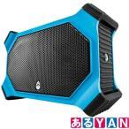 訳あり ECOXGEAR 防水 スピーカー ブルー EcoSlate Waterproof Rugged Speaker Bluetooth対応 未使用品 送料無料