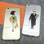 送料無料iPhone6s 6 ペア カップル iPhone6s 6 TPUケース カバーシーリズ スマホケース 強化ガラスフィルム2枚 セット