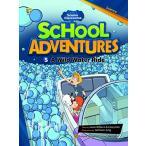 スクール アドベンチャーズ レベル3-5 CD付き A Wild Water Ride 子ども 英語 教材 コミック リーダー e-futu