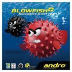 andro(アンドロ) 112265 BK 卓球 表ソフトラバー BLOWFISH+(ブローフィッシュプラス) 17SS