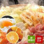 お鍋野菜セット 九州野菜と卵、果物付きのおまかせセット