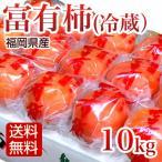 柿 10kg 冷蔵富有柿 冷蔵柿 秀品 ふゆう柿 福岡産   ギフト