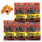 ジンギスカン 送料無料 豚ジンギスカン 豚肉 味付けジンギスカン 運河焼肉 豚ちゃん 220g×3パック×5セット 価格6740円 国産 豚肉 味付き ジンギスカン