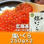 いくら 塩漬け 北海道産 いくら 500 g(250g×2) 価格 6760円 北海道のイクラ 塩漬け ギフト いくら 贈答品