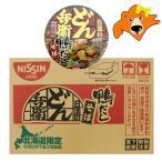 北海道限定 カップ麺 鴨だし そば どん兵衛 日清食品 鴨だし 蕎麦 12食入×1ケース(1箱) 価格 2376円
