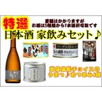 家飲みセット 日本酒720ml 1本 おつまみ付