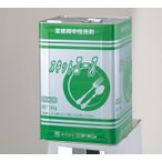 業務用 中性洗剤 スキットエース18kg 1缶/ニチネン/食器・野菜用洗剤/調理具洗濯備品 ポイント消化