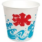 かき氷用カップ波氷 M50個 BBQ  業務用 激安 夏祭り  イベント A−350 発泡カップ ポイント消化