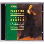 パガニーニ ヴァイオリン協奏曲第3&6番 アレクサンドル・ ドゥバッハ