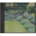 バーバー(1910-1981) ヴァイオリン協奏曲,ピアノ協奏曲 他