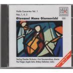 ジョルノヴィチ(1747-1804) ヴァイオリン協奏曲第1、4、5番