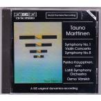 マルティネン(1912-2008) 交響曲第1&8番、ヴァイオリン協奏曲