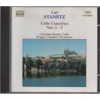 C.シュターミッツ(1745-1801) チェロ協奏曲第1、2、3番