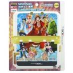 【新品】3DSLL用 ワンピース 15th ANNIVERSARY カスタムハードカバー ブルー