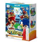 【新品】【WiiU】マリオ&ソニック リオオリンピック wiiリモコンプラスセット(アカ・シロ)