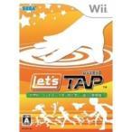 【訳あり新品】【Wii】レッツタップ[お取寄せ品]