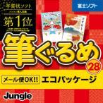 在庫あり[メール便OK]【新品】【PC】筆ぐるめ 28 エコパッケージ(簡易包装) for Windows DVD-ROM