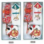 犬張子 3点セット ≪ お宮参り ≫ ( ao8908-ao8909 ) 宮詣り いぬはりこ でんでん太鼓 のしめ