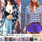 rails/レイルズ/チェック/ネルシャツ