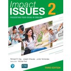 Impact Issues レベル 2 (3rd Edition)Student Book with Online Code