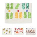 ミラー刺繍 カードケース ピーナッツ柄(白)
